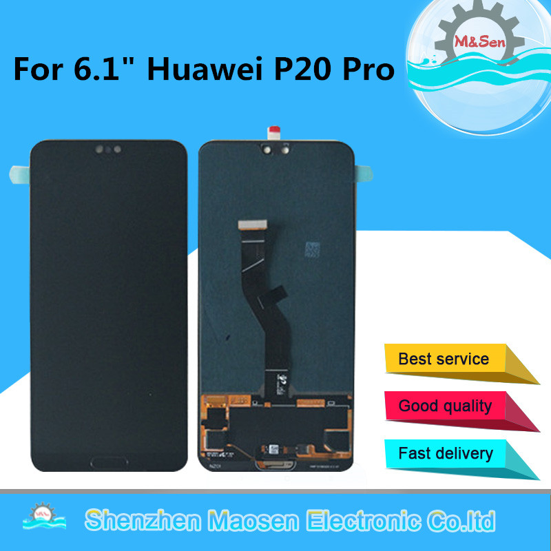 Original M Sen For 6 1 Huawei P20 Pro CLT AL01 LCD Display Screen Touch Panel