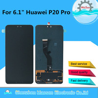 Original M&Sen For 6.1 Huawei P20 Pro CLT AL01 LCD Display Screen+Touch Panel Digitizer With Fingerprint For P20 Pro Display