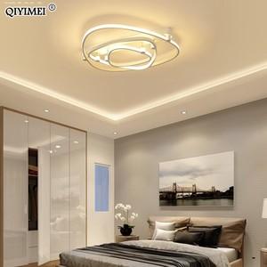 Image 4 - 조 광 기 led 천장 조명 원격 제어 아크릴 램프 천장 침실 플러시 마운트 현대 홈 장식 luminaire