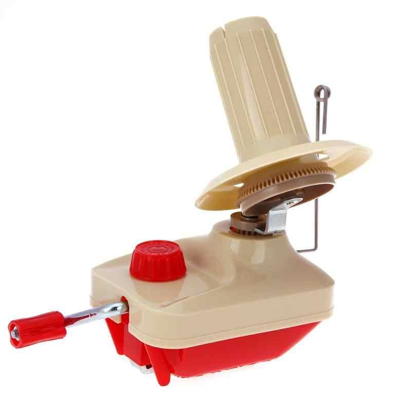 اليد تعمل سلسلة اللفاف آلة سويفت Coiler للغزل الألياف الكرة الصوف ويندر حامل كابل الألياف الصوف غزل حرفة الخياطة أداة
