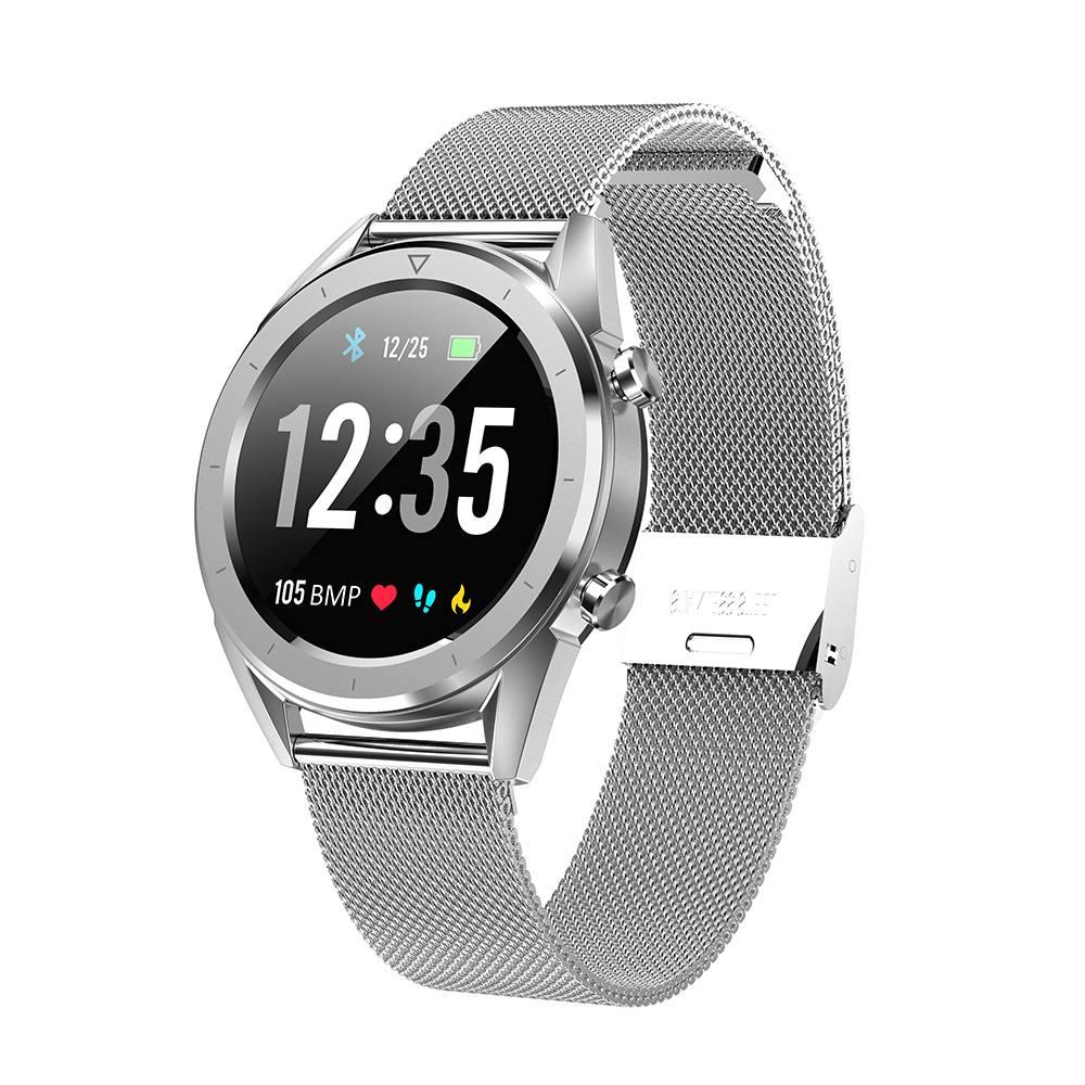 DTNO.1 DT28 1,54 Große Display Smart Uhr EKG IP68 Herz Rate Blutdruck Mobile Zahlung Business Smart Fitness Smartwatch