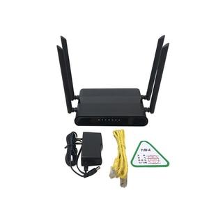 Image 4 - Wi Fi роутер 300 Мбит/с слотом для sim карты и 4 антеннами 5dbi поддержка pptp и l2tp, wifi 4g lte модем роутер