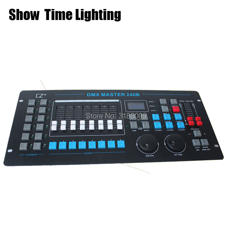 Show Time 240B DMX Master Controller Stage Lighting Console DJ Equipment DMX 512 Console For LED Par Moving Head Spotlights