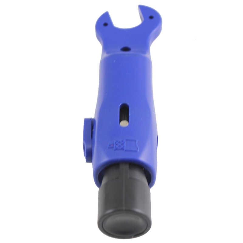 BHTS-RG59/6 קואקסיאלי כבל פין חוט חשפנית אוטומטי חוט חשפנית רב תכליתי חשפנית עם משושה ראש