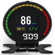 купить Newest Car Head-Up Display Combine OBD &GPS HUD Overspeed Warning System Projector Windshield Auto Electronic Voltage Alarm дешево