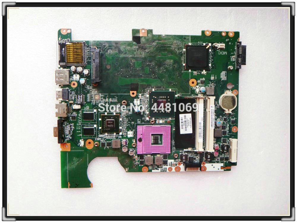578704 001 for HP Pavilion G71 CQ71 CQ71 330ED CQ71 310SV Notebook PM45 Motherboard DA00P6MB6D0 100
