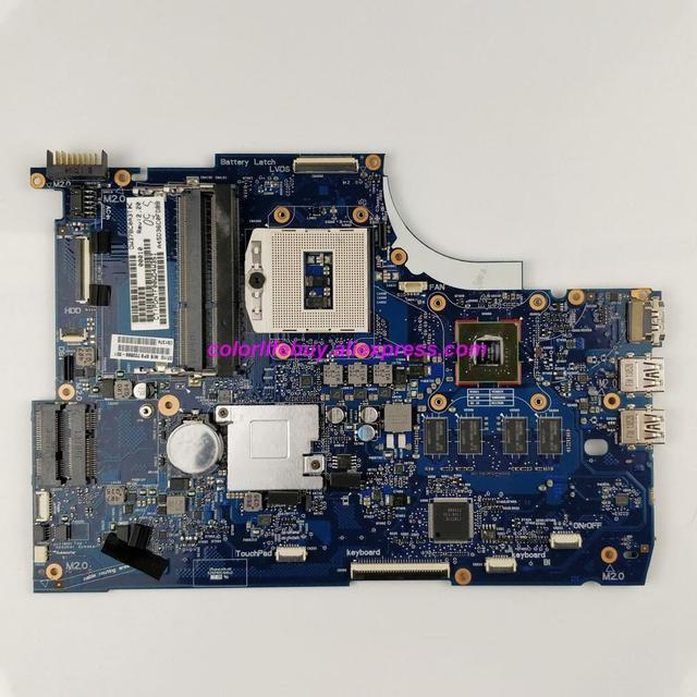 Genuíno 720566 501 720566 601 720566 001 w 740 m/2g gráficos hm87 placa mãe do portátil para hp 15 15 j 15t j série computador portátil