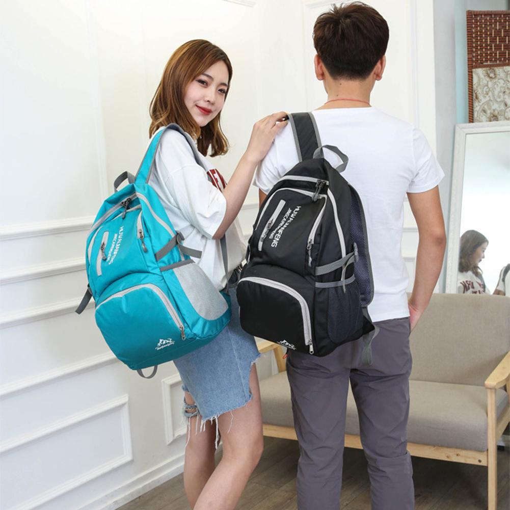 Fashion Unisex Folding Lightweight Backpack Outdoor Travel Sports Shoulder Bag PackFashion Unisex Folding Lightweight Backpack Outdoor Travel Sports Shoulder Bag Pack