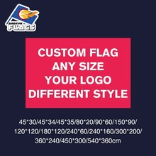 3x5FT Custom Flag 90X150cm 100D Polyester Birthday Party Wedding Banner Your Logo Christmas Customize LGBT