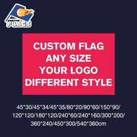 3x5FT Custom Flag 90X150cm 100D Polyester Birthday Party Wedding Banner Party Flag Your Logo Christmas Customize LGBT Flag