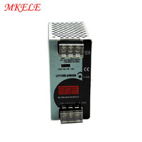 150w Switching Power Supply Din Rail Voltage With Digital Display 24V 6.25A LP 150 24