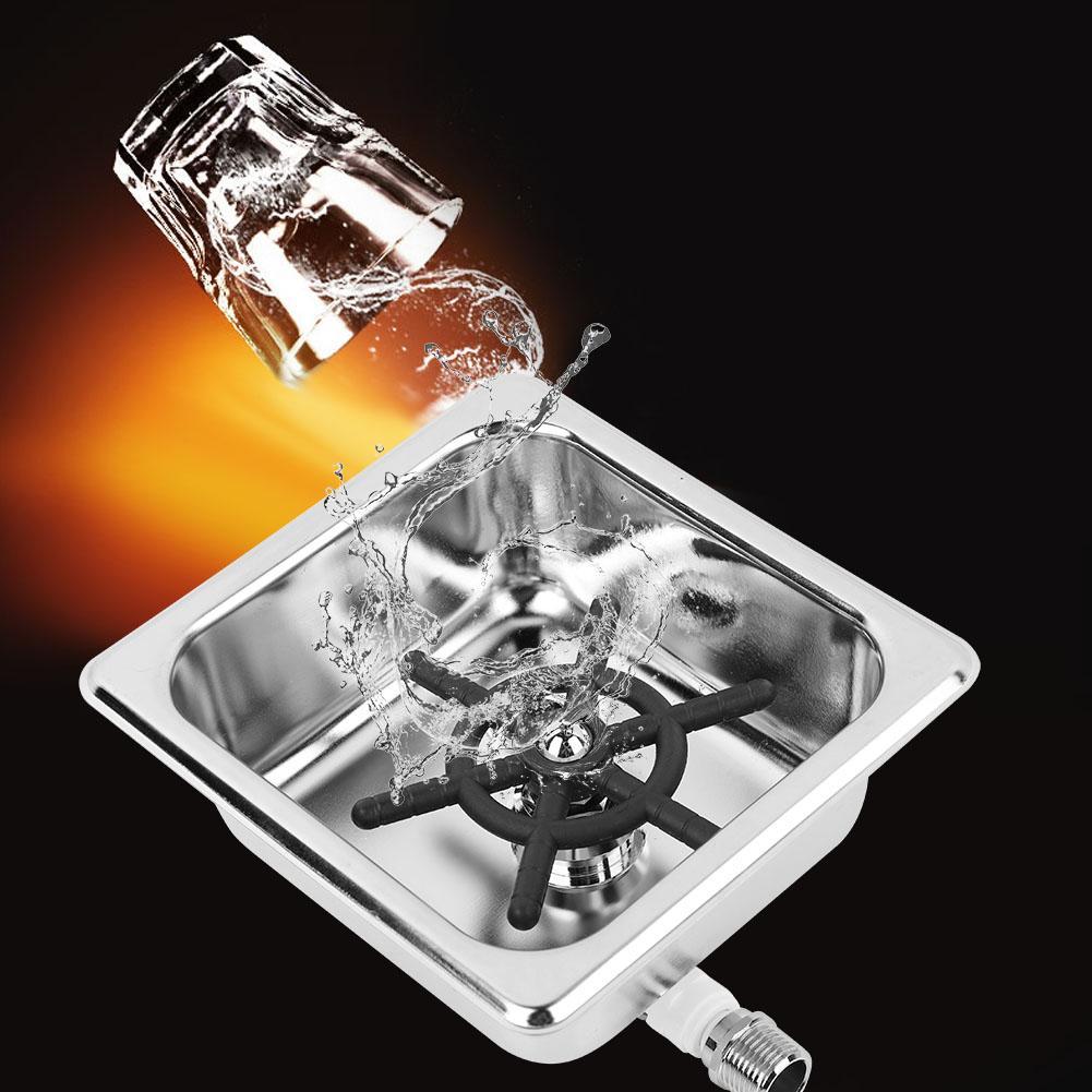 Automatyczne ze stali nierdzewnej + mosiądz stali nierdzewnej kubek podkładka do czyszczenia szkło płuczka dla hotelu Bar kawy filiżanka do mleka i herbaty w Zestawy akcesoriów do kawy od Dom i ogród na  Grupa 1