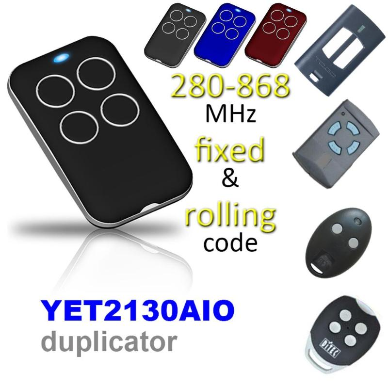 315/418/433/868MHz Multi-frequency Universal Automatic Cloning Remote Control PTX4 Copy Duplicator For Garage Gate Door(China)
