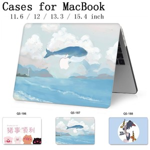 Image 1 - For Laptop Case Sleeve Notebook For MacBook 13.3 15.4 Inch For MacBook Air Pro Retina 11 12 With Screen Protector Keyboard Cove