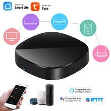 Wifi ir controle remoto ir hub wifi habilitado infravermelho universal controle remoto para ar condicionado tv usando tuya smart life app