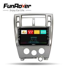 Lecteur multimédia radio Funrover 8 cœurs dvd android 8.1 pour Hyundai Tucson 2006-2014 2 din autoradio gps navigation 4G + 64G
