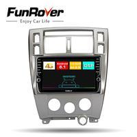Funrover 8 cores car radio multimedia player dvd android 8.1 For Hyundai Tucson 2006 2014 2 din autoradio gps navigation 4G+64G