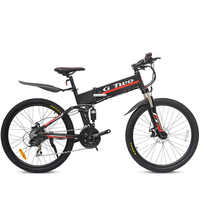 Electric Bicycle 48V 350W Two Wheels Electric Bicycle Removable Battery 36V 250W 21/27Speeds Foldable Electric Scooter Adults