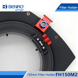 Image 4 - Benro FH150M2 Filter Holder 150mm Square Filter System ND/GND/CPL Filters Holder For Above 14mm Ultra Wide Lens Free Shipping