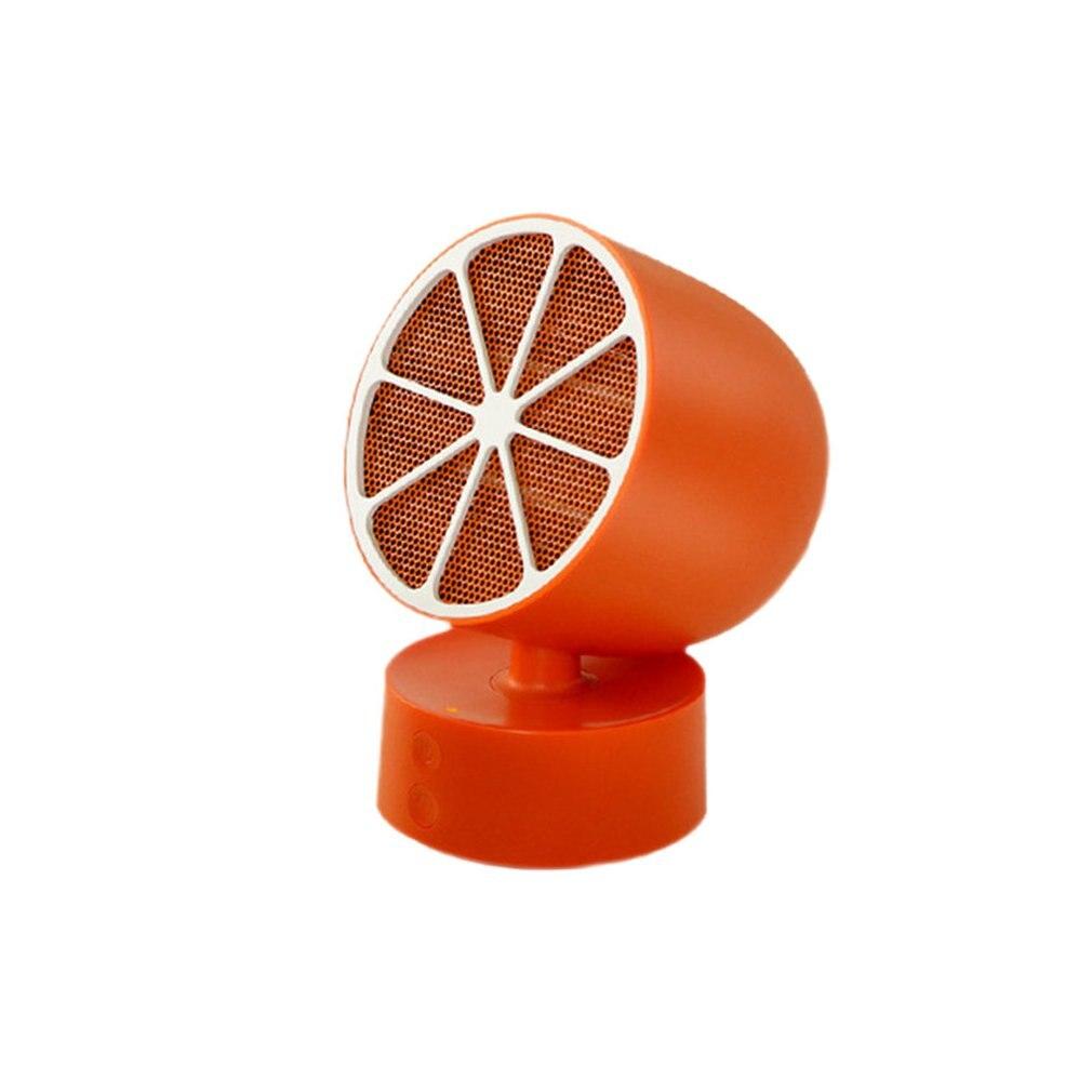 Mini appareil de chauffage portatif de forme créative de citron Machine de chauffage électrique réglable de bureau pour la maison de bureau
