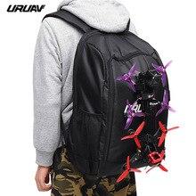 URUAV UR7 FPV гоночный рюкзак, сумка через плечо, водонепроницаемый чехол для переноски, сумка передатчик, дорожная сумка мессенджер, слинг