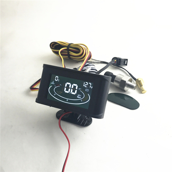 3 in 1 Oil Pressure /Voltmeter Voltage /Water Temperature Gauge Emperature sensor screw : M10 , Oil Pressure sensor:1/8 NPT engine swap m12 1 5 adapter to 3 8 npt coolant water temperature sensor for ls ls1