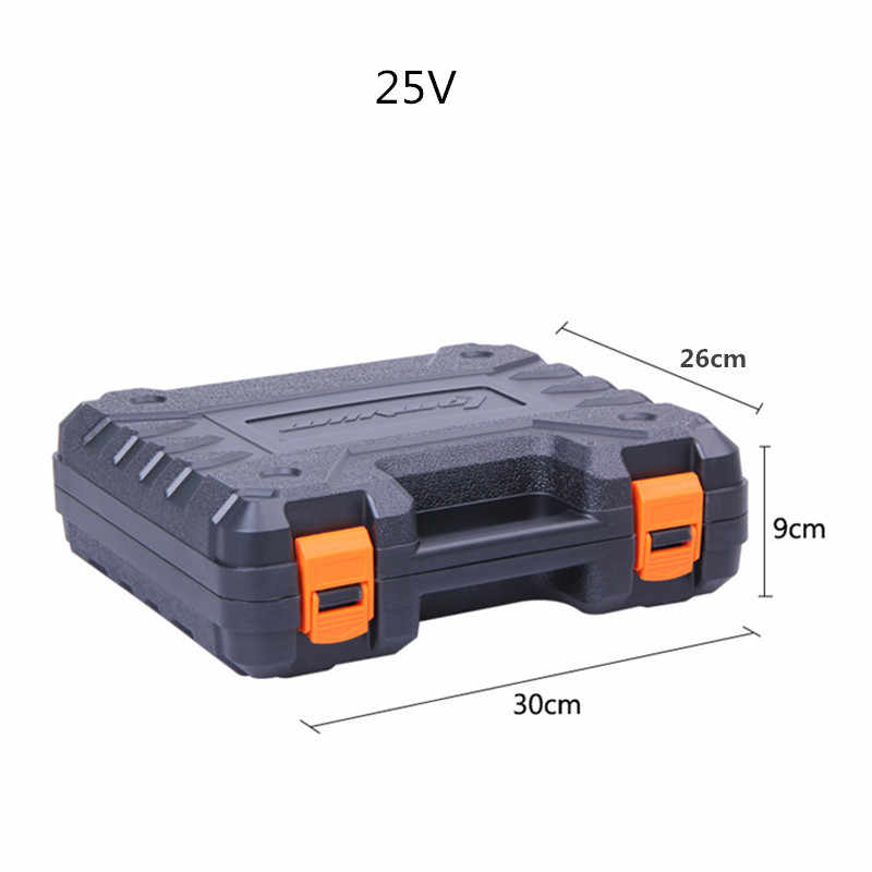 NEW Power Tool Storage Case Box Electric Drill Screwdriver Organiser Suitcase