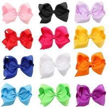 16Pcs Multicolor Cute Bow Childrens Hair Clips Girls Hairpins Non-Slip Simple Design Accessories
