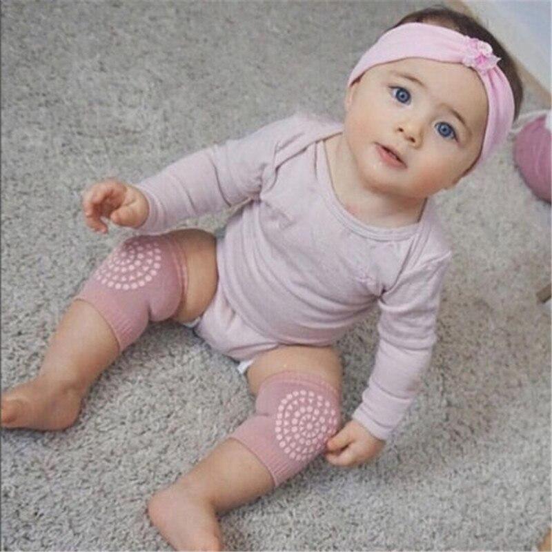 1 Paar Baby Knee Pad Kids Peuter Baby Kruipen Knie Elleboog Pad Kruipen Veiligheid Protector