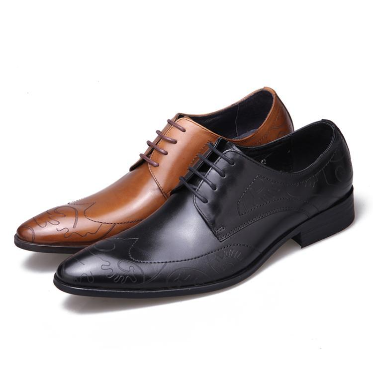 Yellow Black Man Fashion Dress Wedding Oxfords Shoes 2018 Autumn Lace up Italian Leather Derby Oxfords Handmade Fashion ShoesYellow Black Man Fashion Dress Wedding Oxfords Shoes 2018 Autumn Lace up Italian Leather Derby Oxfords Handmade Fashion Shoes