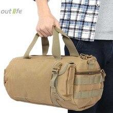 20L Открытый военный тактический рюкзак походная сумка через плечо сумка на плечо Молл тактическая поясная сумка походная Дорожная Спортивная Сумка