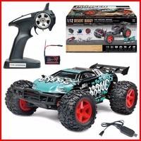 Новейшая игрушка для мальчиков BG1518 1:12 Масштаб 40 50 км/ч четырехколесный привод водостойкий RC гоночный трагги высокая скорость р/у автомобиль