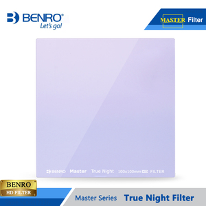Image 2 - Benro 100*100mm 150*150mm Master True Night Filter Square Plug Filters Night Sky Photography Waterproof Optical Glass Free