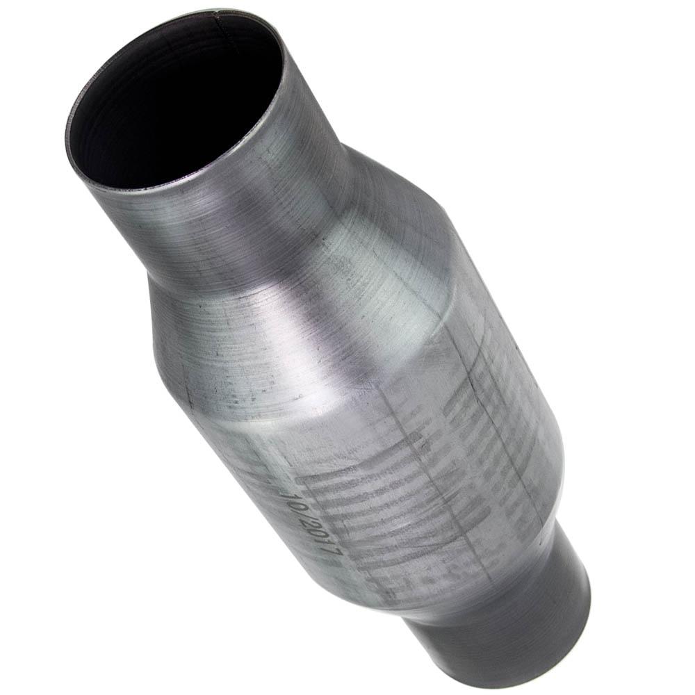 "Universal 2.5/"" Catalytic Converter Stainless Steel ECO II 5.9L 11/"" Body"