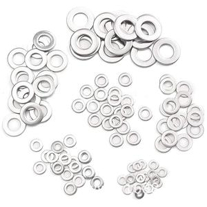 Image 3 - ขายร้อน 450Pcs ปะเก็นเครื่องซักผ้าอลูมิเนียมปะเก็นอลูมิเนียมโลหะแบนปะเก็นเครื่องซักผ้าอลูมิเนียมปิดผนึกแหวน