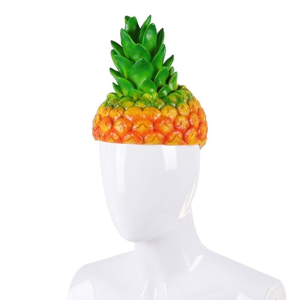 COYOUNG ブランド大人のプールパーティーハロウィンカーニバルパーティーファンシーパイナップルコスプレ漫画おかしいフルーツ衣装帽子