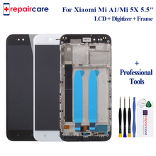 For Xiaomi Mi A1 LCD Display Touch Screen Digitizer For MI A1 / 5X Assembly with Frame LCD Replacement 100% Tested aaaa original lcd for xiaomi a1 screen display digitizer assembly replacement lcd for xiaomi a1 screen with frame