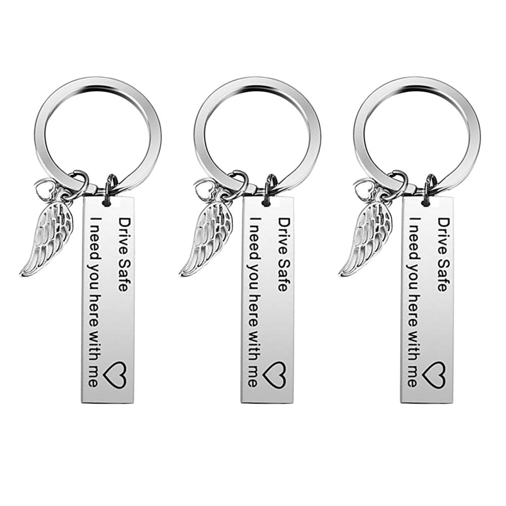 3 Piece Creative Silver Angel Wing Unique Fashion Drive