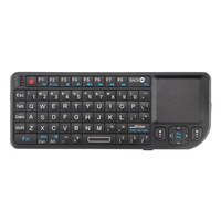 FORNORM Promotion New Mini 2.4G Wireless Keyboard Touchpad Backlight For Smart TV Samsung LG Panasonic Toshiba