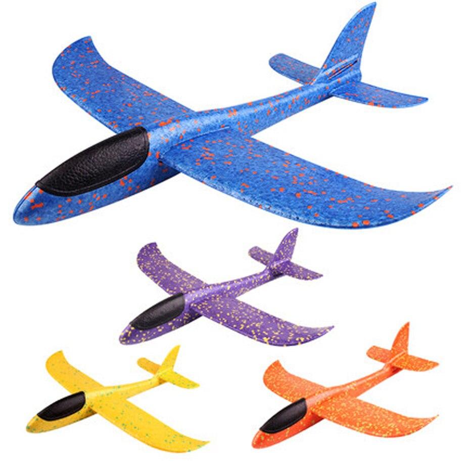2017 12pcs Diy Hand Throw Flying Glider Planes Foam: 2019 DIY Kids Toys Hand Throw Flying Glider Planes Foam