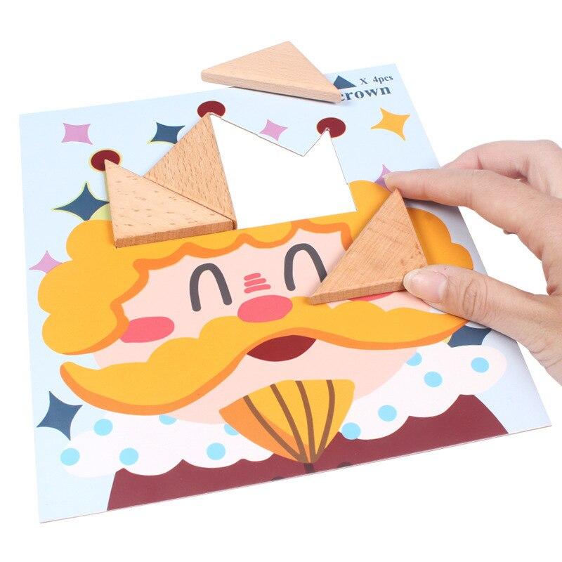 Puzzle en bois jouets pour enfants début jeu éducatif Montessori Oyuncak jouets pour garçons filles 49 - 2