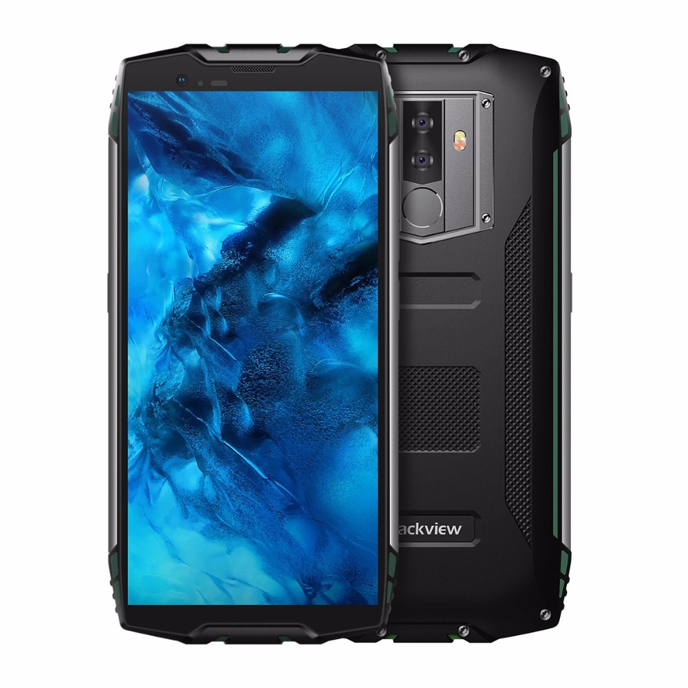 Blackview BV6800 Pro Android 8.0 6580mAh Wireless charging 4GB+64GB Octa Core 16.0MP IP68 shockproof Waterproof 4G mobile phone