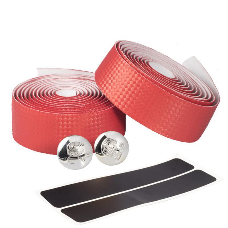 Portable Adhesive Wrap Road Bike Bicycle Handle Bar Tape Belt Carbon Fiber New