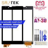Srjtek Für Für Lenovo Tab 2 A7-30 A7-30DC A7-30HC A7-30TC Touchscreen Digitizer Sensoren Glas Panel Tablet PC Ersatz Teile