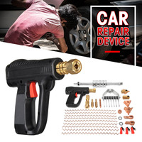 66Pcs/Set Dent Repair Puller Kit Car Tools Hand Body Spot Guns Mini Welding Machine Auto System Spotter Fix Clamp Hammer Removal