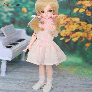 Image 2 - Rru & lililid modelo de cuerpo de muñeca BJD SD para bebés y niños, muñecos de resina, juguetes de alta calidad para cumpleaños y Navidad, 1/6