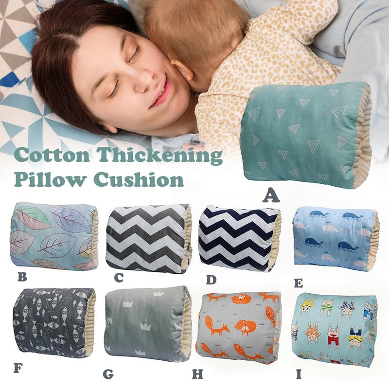 Cotton Baby Feeding Pillow Plus Velvet Thickening Soft Comfortable Baby Nursing Pillow Arm Pillow Feeding Pillow Baby Products