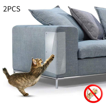 Sofa Cat Claw Protection Pad Transparent Furnitur Cat Scratching Protector Clawing Cats Furniture Protective Cover New 1