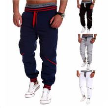2018 Fashion Harem Pants Men Casual Skinny Sweatpants Male Trousers Drop Crotch Leisure Joggers Sarouel
