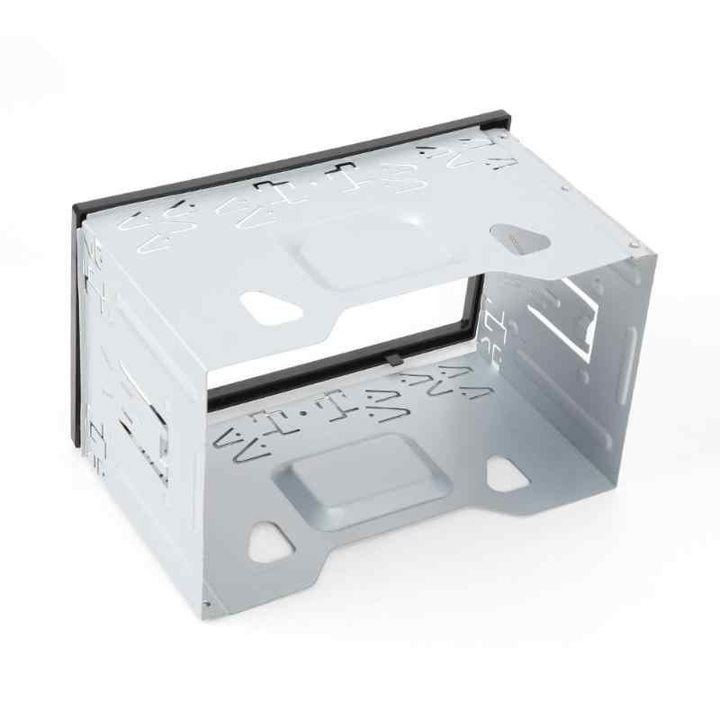 VODOOL 2Din Marco de Radio de coche Fascia Panel de salpicadero instalación Kit de ajuste de montaje para coche estéreo reproductor de DVD coche sistema inteligente partes